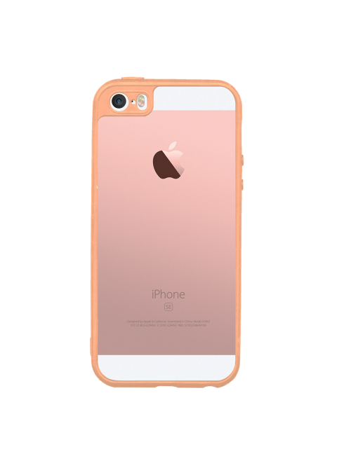 Coque Personnalisable iPhone 5/5S/SE Rose